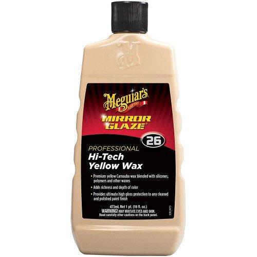Meguiars Hi-Tech Yellow Wax - Ceara Auto