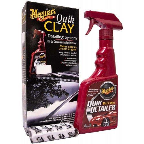 Meguiars Quick Clay Starter Kit - Kit Decontaminare Vopsea