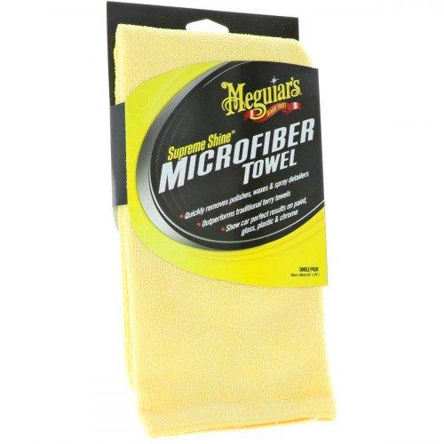 Meguiars Supreme Shine Microfibre - Prosop Microfibra