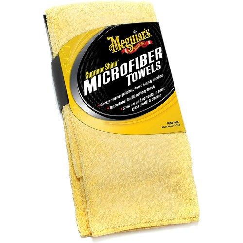 Meguiars Supreme Shine Microfibre - Set 3 Prosoape Microfibre