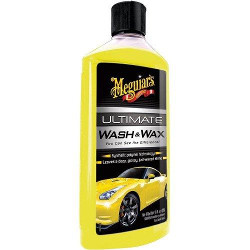 Meguiars Ultimate Wash & Wax - Sampon Auto cu Ceara, 473ml