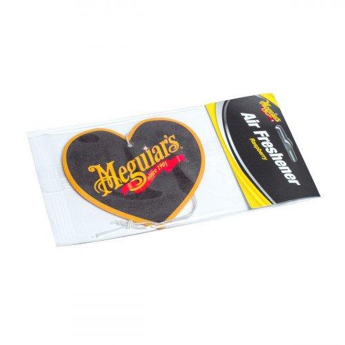 Odorizant Auto Meguiar's Heart Air Freshener, Zmeura