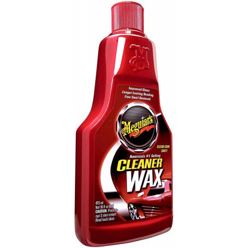 Solutie Curatare Vopsea Meguiars Cleaner Wax Liquid, 473ml
