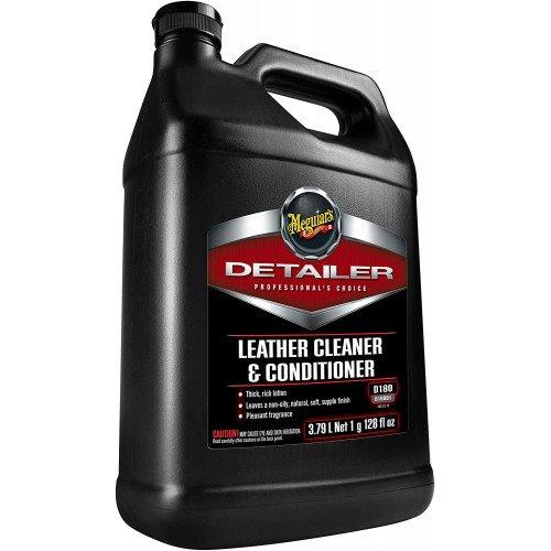 Solutie Curatare & Intretinere Piele Meguiars Leather Cleaner & Conditioner, 3.78L
