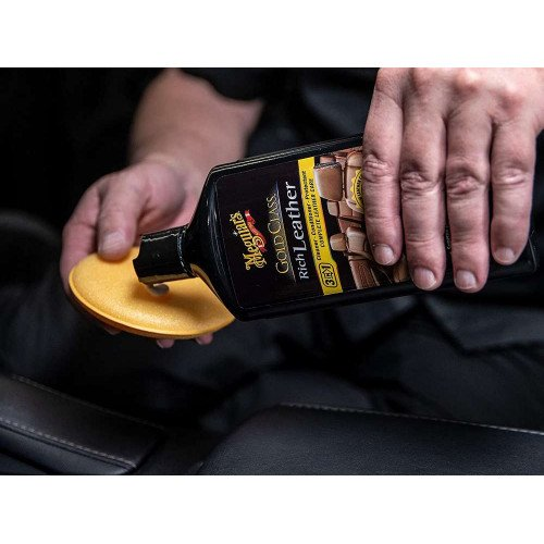 Crema Intretinere Piele Meguiar's Gold Class Rich Leather Cleaner-Conditioner-Protectant, 414ml