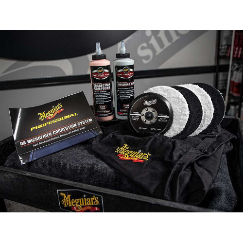 Kit Polish Meguiar's DA Microfiber Correction System, 140mm