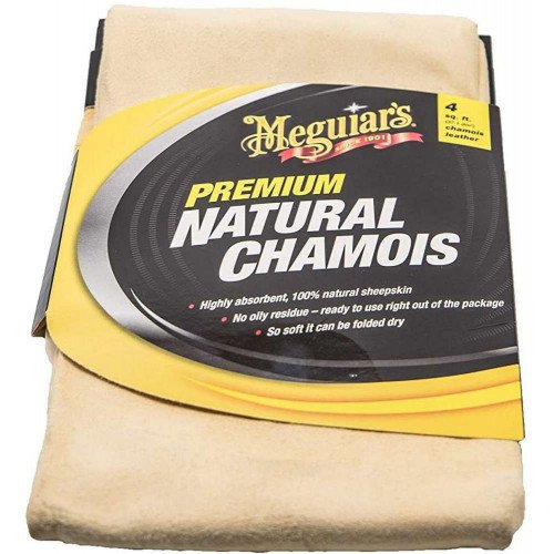 Laveta Piele Naturala Meguiar's Premium Natural Chamois
