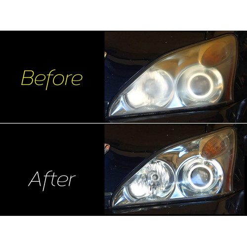 Kit Polish Faruri Meguiars Basic Headlight Restoration Kit