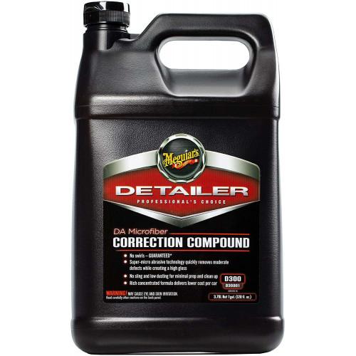 Meguiars DA Microfiber Correction Compound D300 - Pasta Abraziva Polish 1 Gallon