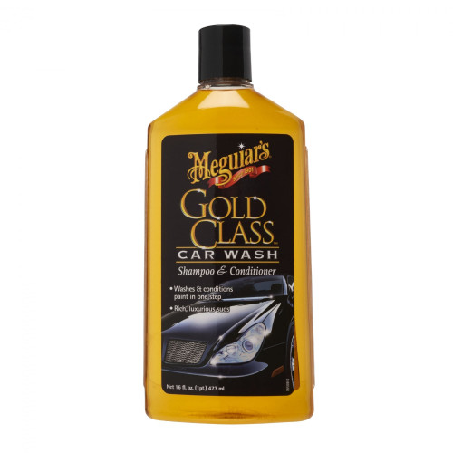 Meguiars Gold Class Car Wash Shampoo & Conditioner - Sampon Auto 476 ml