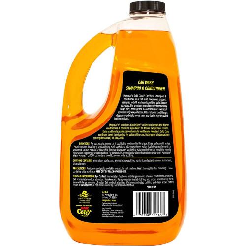 Meguiars Gold Class Car Wash Shampoo & Conditioner - Sampon Auto