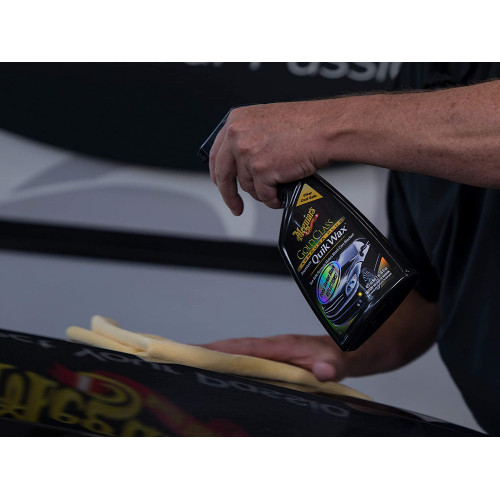 Ceara Lichida Meguiars Gold Class Carnauba Plus Quik Wax,473ml
