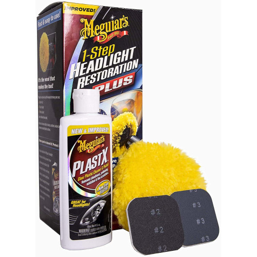 Meguiars Headlight Restoration Kit - Kit Polish Faruri