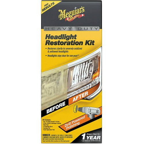 Kit Polish Faruri Meguiars Heavy Duty Headlight Restoration Kit