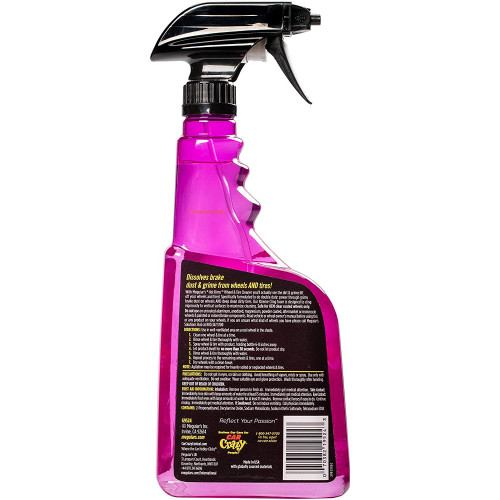 Meguiars Hot Rims All Wheel & Tire Cleaner - Solutie Curatare Jante