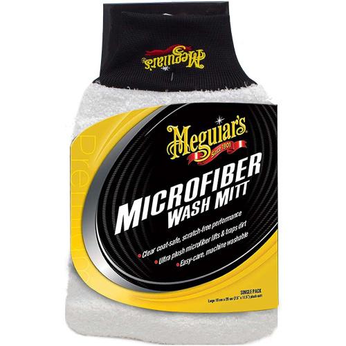 Meguiars Microfiber Wash Mitt - Manusa Microfibre Spalare Auto