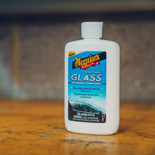 Polish Sticla Meguiars Perfect Clarity Glass Polishing Compound,235 ml