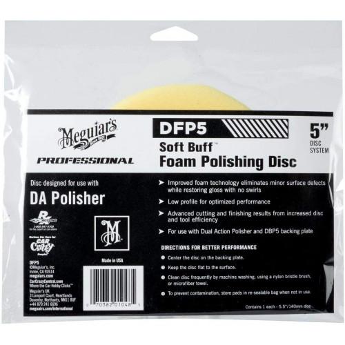 Burete Polish Mediu Meguiars Soft Buff DA Foam Polishing Disc,5,DFP5