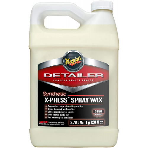 Ceara Lichida Meguiars Synthetic X-Press Spray Wax,3.78L