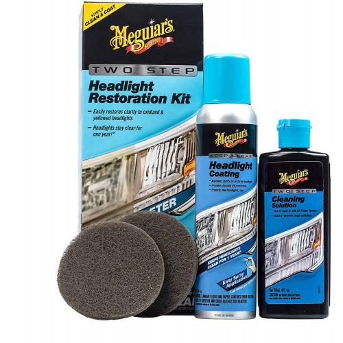 Kit Restaurare Faruri Meguiars Two Step Headlight Restoration Kit
