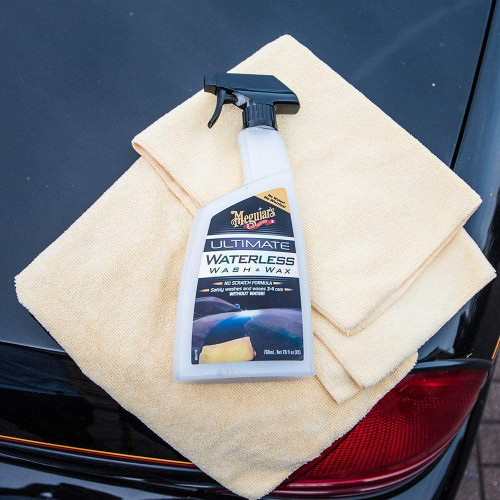 Meguiars Ultimate Wash & Wax Anywhere - Solutie Spalare Rapida
