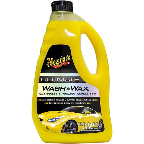Meguiars Ultimate Wash & Wax - Sampon Auto cu Ceara