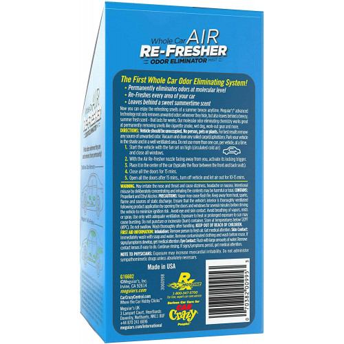 Odorizant Auto Meguiars Air Re-Fresher Summer Breeze