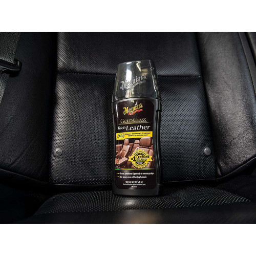 Meguiars Gold Class Rich Leather Cleaner/Conditioner - Crema Hidratare Piele