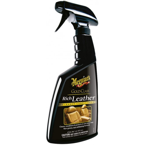Meguiars Gold Class Rich Leather Cleaner & Conditioner - Solutie Curatare & Intretinere Piele