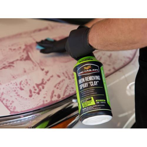 Solutie Decontaminare Chimica Meguiars Iron Removing Spray Clay, 946ml