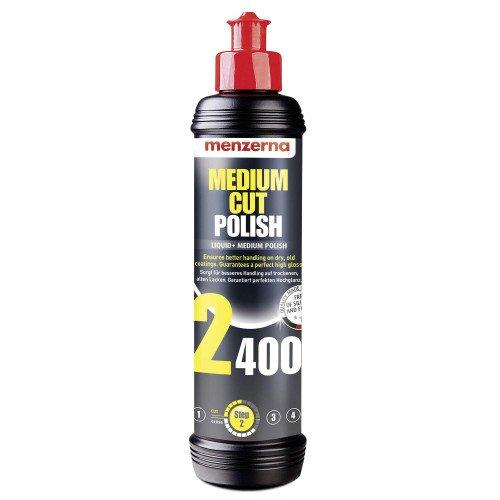 Pasta Polish Mediu Menzerna Medium Cut Polish 2400, 250ml