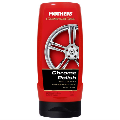 Pasta Polish Chrom si Aluminium Mothers California Gold,355ml