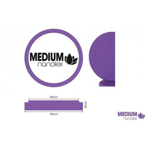 Burete Polish Mediu Nanolex Polishing Pad Medium, 145x25x125mm