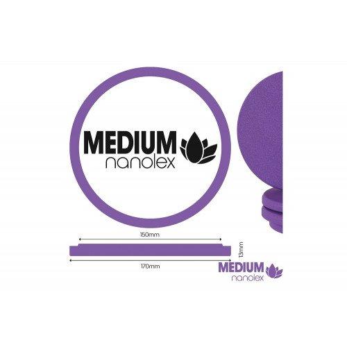 Burete Polish Mediu Nanolex Polishing Pad Medium, 170 x 13mm
