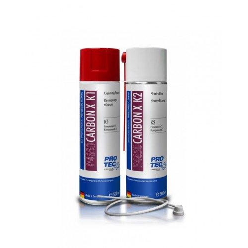 Kit Aditivi Curatare Camera Ardere Protec Cleaning Foam si Neutralizer, 500ml