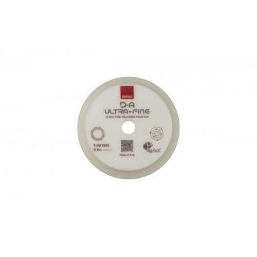 Burete Ultrafin Polish Rupes D-A Ultrafine Foam Pad, 130/150MM, Alb
