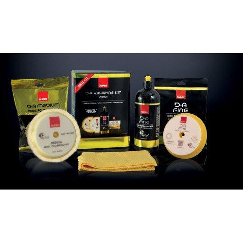 Kit Polish Rupes D-A Fine High Performance Polishing Compound, 180mm