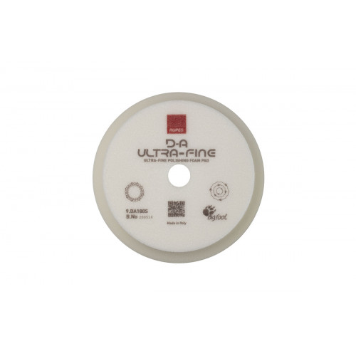 Burete Ultrafin Polish Rupes D-A Ultrafine Foam Pad, 150/180MM, Alb