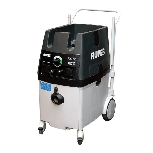Aspirator Profesional Electropneumatic Mobil Rupes KS260EPN, 65L