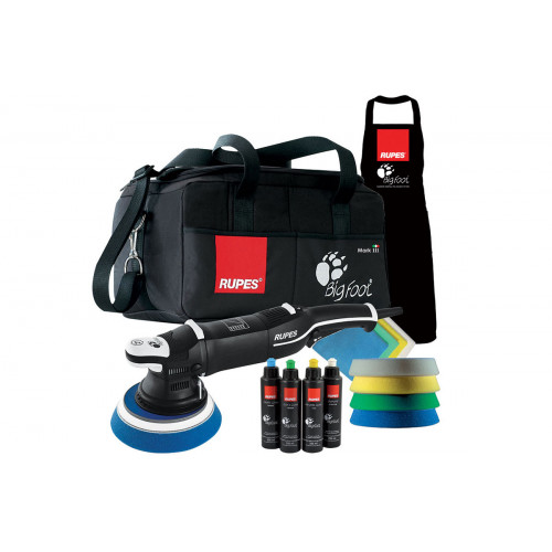 Kit Deluxe Masina Polish Orbitala Rupes Bigfoot LHR 21 Mark III