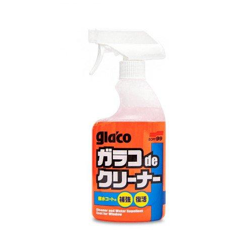 Solutie Curatare & Tratament Hidrofob Geamuri Soft99 Glaco De Cleaner, 400ml