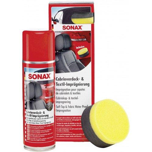 Solutie Impermeabilizare Soft-Top Sonax Cabrioverdeck Textil-Impragnierung, 300ml