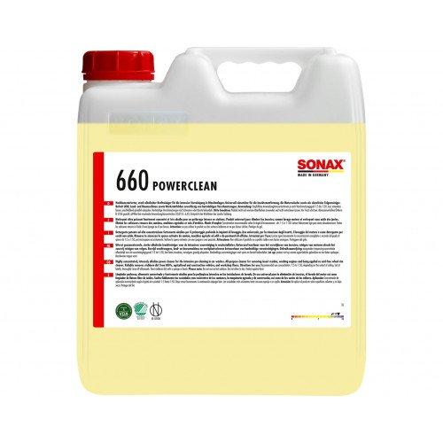 Solutie Indepartare Materie Organica Sonax Power Clean, 10L