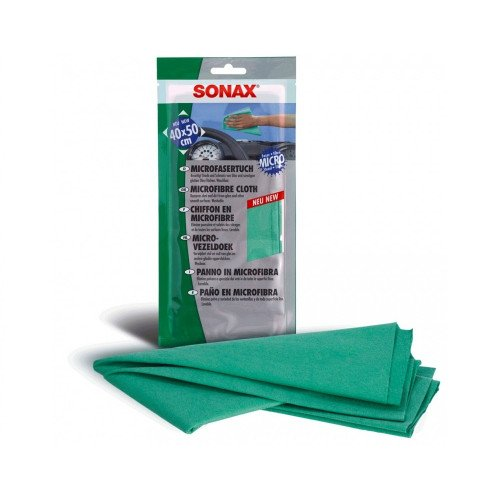 Laveta Microfibre Sonax Microfibre Cloth, 40 x 50cm
