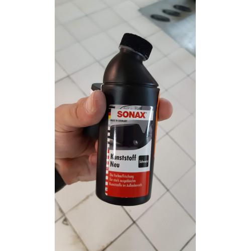 Sonax Plastic Restorer Black - Dressing Plastice Exterioare
