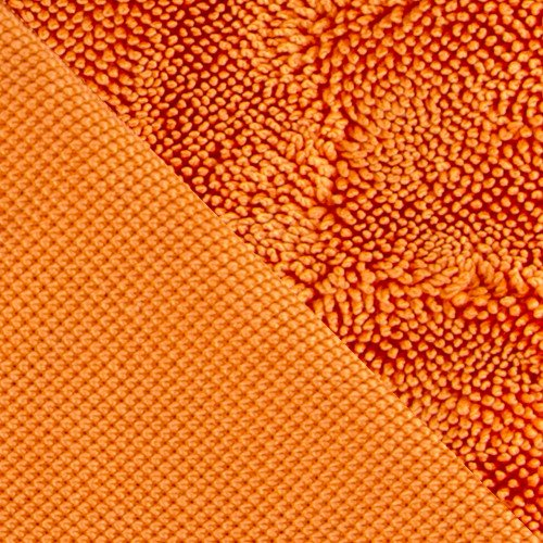 Prosop Microfibre Uscare Auto speckLESS Twist Bros, Orange, 90x70cm
