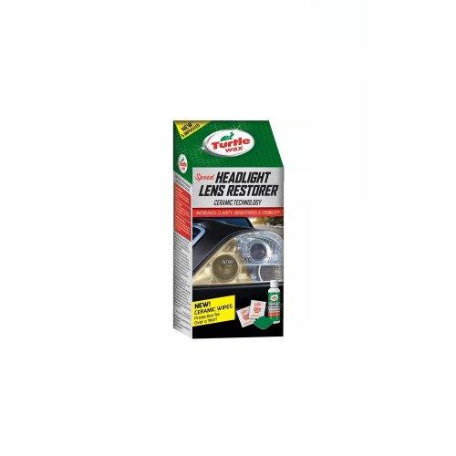 Kit Restaurare Faruri Plastic Turtle Wax, 240ml