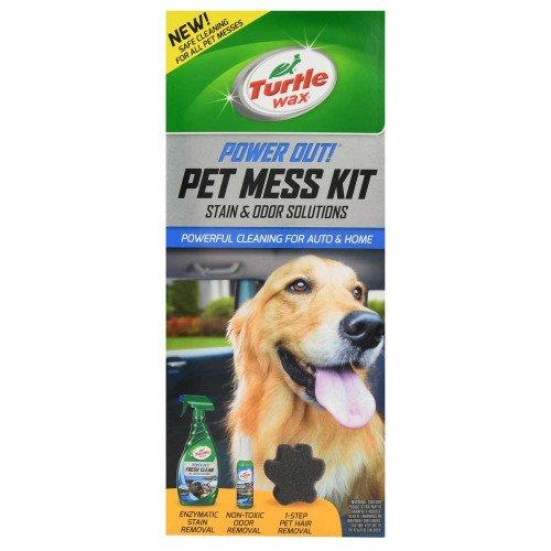 Solutie Inlaturare Pete Animale Turtle Wax Pet Mess Kit
