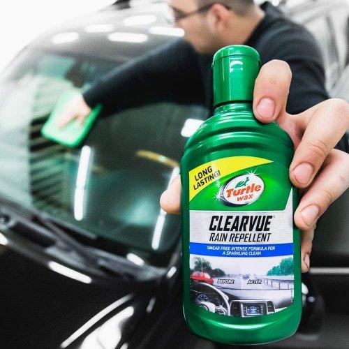Tratament Hidrofob Parbriz Turtle Wax Clearvue Rain Repellent, 300ml