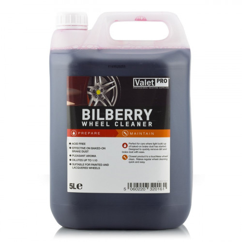 Valet Pro Bilberry Wheel Cleaner - Solutie Curatare Jante 5L